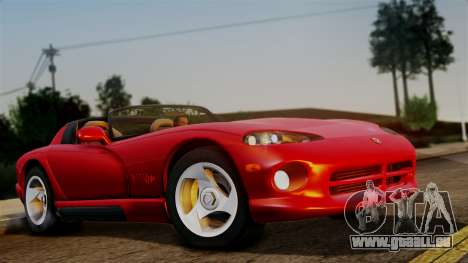 Dodge Viper RT 10 1992 für GTA San Andreas