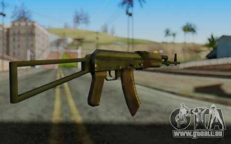 AK-74P pour GTA San Andreas deuxième écran