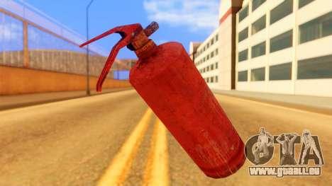 Atmosphere Fire Extinguisher für GTA San Andreas zweiten Screenshot