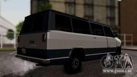 El Passa Van pour GTA San Andreas laissé vue