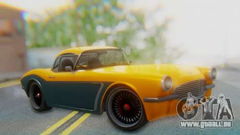 Invetero Coquette BlackFin Not Convertible pour GTA San Andreas