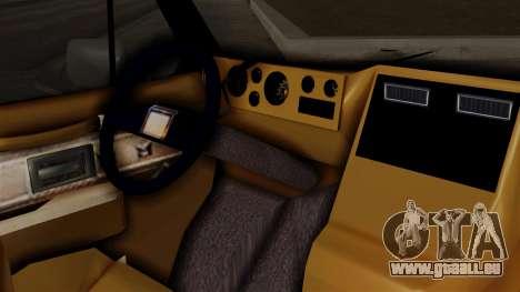 Chevrolet Chevy Van G20 Paraguay Police pour GTA San Andreas vue de droite