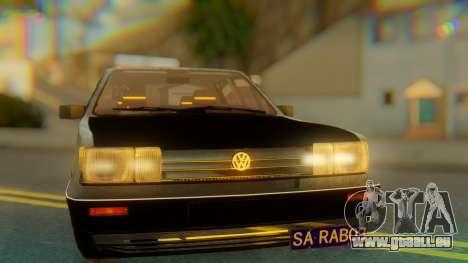 Volkswagen Santana Gz pour GTA San Andreas vue arrière
