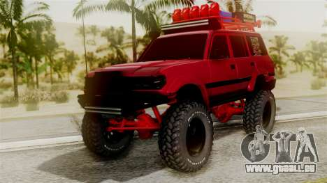 Burbuja Off Road pour GTA San Andreas