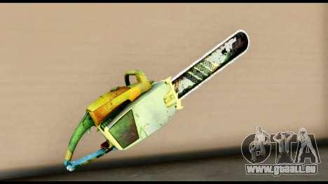 Brasileiro Chainsaw pour GTA San Andreas deuxième écran