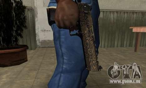 Brown Jungles Deagle für GTA San Andreas zweiten Screenshot