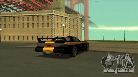 ZR-350 Road King pour GTA San Andreas vue de dessous