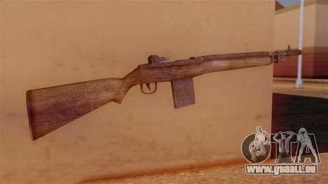 M14 Assault Rifle pour GTA San Andreas deuxième écran