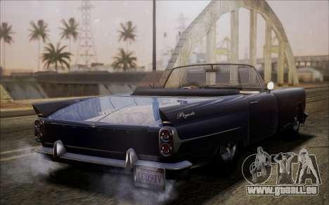 GTA 5 Vapid Peyote pour GTA San Andreas sur la vue arrière gauche