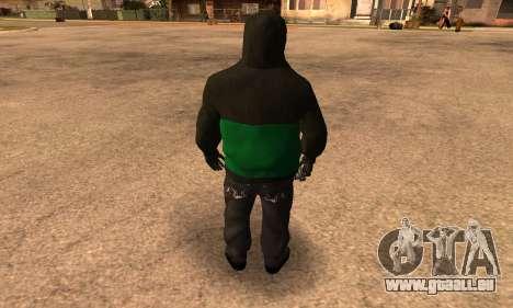 Fam Black für GTA San Andreas dritten Screenshot