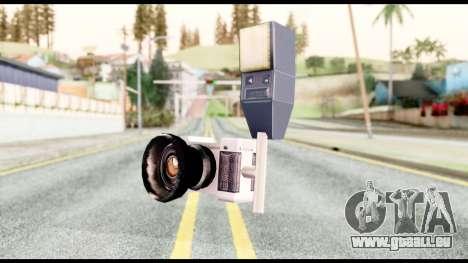 La caméra pour GTA San Andreas