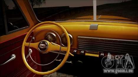 Chevrolet 3100 Truck 1951 pour GTA San Andreas vue arrière