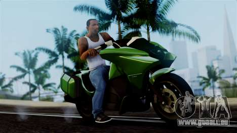 Dinka Vindicator GTA 5 Plate für GTA San Andreas
