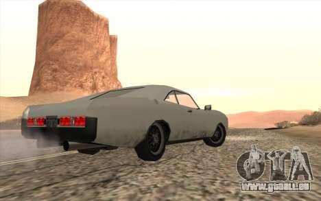 Imponte Dukes SA Style pour GTA San Andreas laissé vue