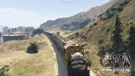 GTA 5 Improved freight train 3.8 sechster Screenshot