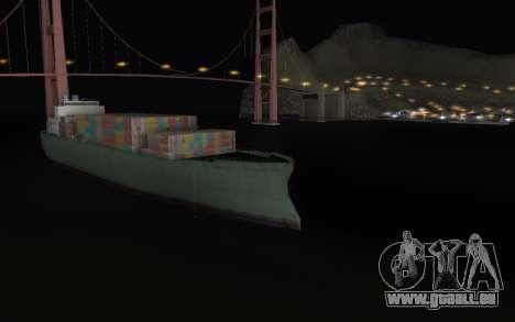 La nuit éternelle pour GTA San Andreas deuxième écran