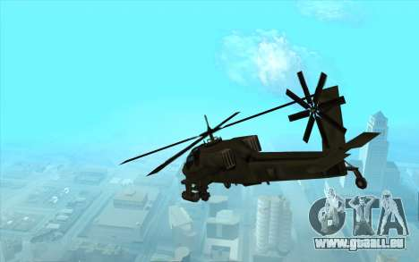 Chasseur из Vice City pour GTA San Andreas vue de droite