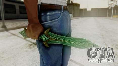 Glass Dagger pour GTA San Andreas deuxième écran