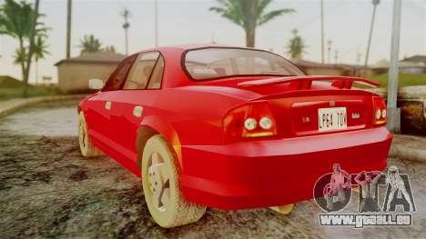 Zomkah from Saints Row 2 pour GTA San Andreas laissé vue