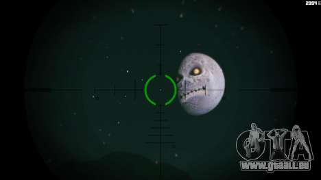 Majoras Mask Moon für GTA 5