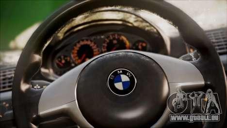 BMW M3 GTR Street Edition pour GTA San Andreas