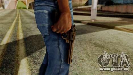Colt Revolver from Silent Hill Downpour v1 für GTA San Andreas dritten Screenshot