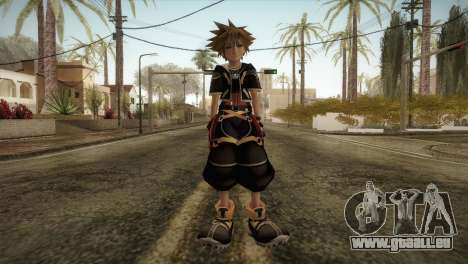 Kingdom Hearts 2 - Sora für GTA San Andreas zweiten Screenshot