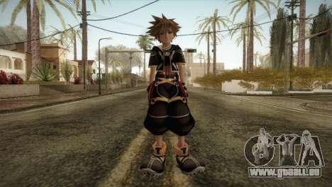 Kingdom Hearts 2 - Sora pour GTA San Andreas deuxième écran