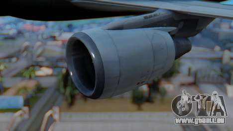 Airbus A320-200 American Airlines (Old Livery) pour GTA San Andreas vue de droite