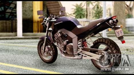 Ducati FCR-900 v4 pour GTA San Andreas laissé vue