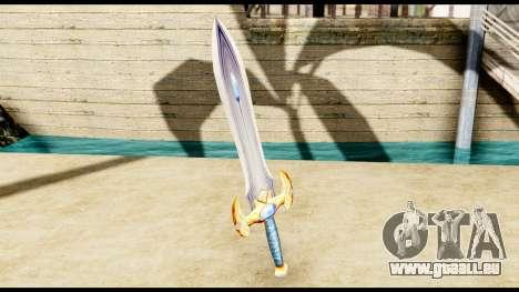 L'épée du paladin pour GTA San Andreas