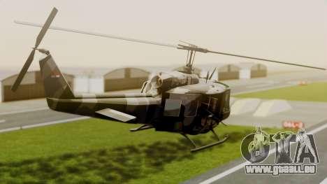 Bell UH-1 Paraguay für GTA San Andreas linke Ansicht