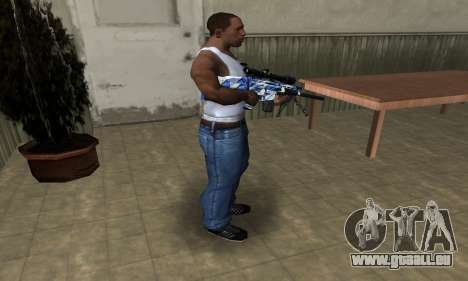 Mount Sniper Rifle für GTA San Andreas dritten Screenshot