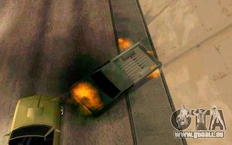 Burning car mod from GTA 4 für GTA San Andreas sechsten Screenshot
