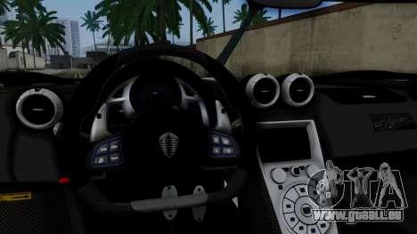 NFS Rivals Koenigsegg Agera R v3.0 für GTA San Andreas rechten Ansicht