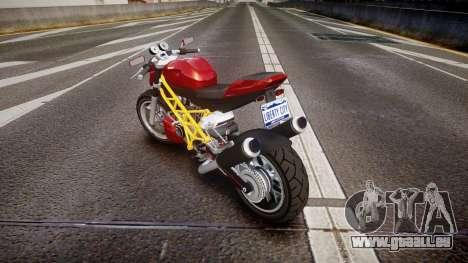 GTA V Principe Lectro pour GTA 4 Vue arrière de la gauche