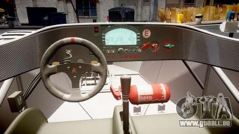 Radical SR8 RX 2011 [11] pour GTA 4 est une vue de l'intérieur