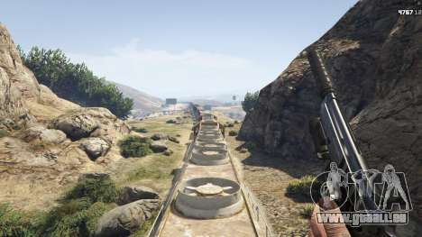 Improved freight train 3.8 pour GTA 5