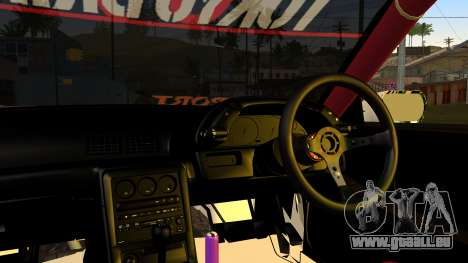 Nissan Skyline R32 Speedhunters pour GTA San Andreas vue arrière