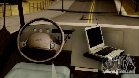 SANG Combat Rescue International pour GTA San Andreas vue arrière