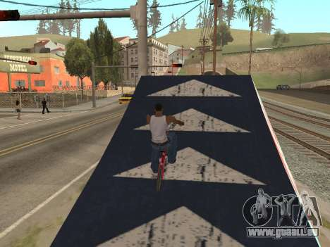 Tremplin pour GTA San Andreas troisième écran