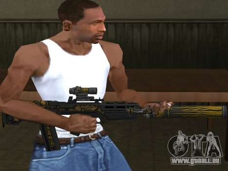 GTA 5 M4 pour GTA San Andreas deuxième écran