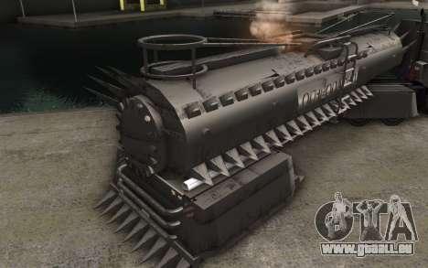 Der trailer zu Mad Max LKW für GTA San Andreas zurück linke Ansicht