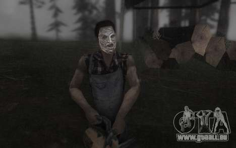 Le masque de Cuir pour GTA San Andreas deuxième écran