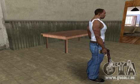 Klajk Deagle pour GTA San Andreas troisième écran