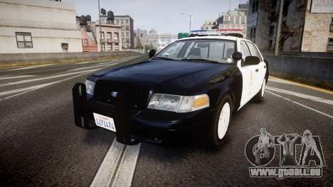 Ford Crown Victoria 2011 LAPD [ELS] rims1 für GTA 4