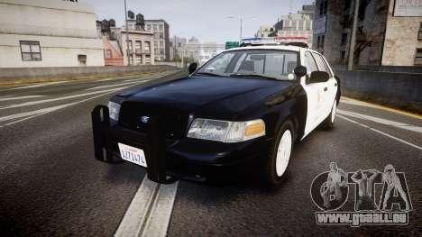 Ford Crown Victoria 2011 LAPD [ELS] rims1 pour GTA 4