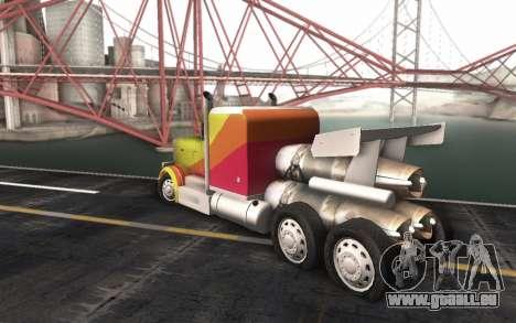 ShockWave Jet Truck pour GTA San Andreas laissé vue
