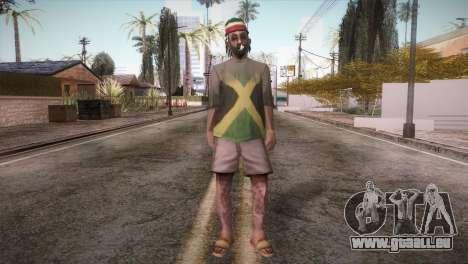 Rasta Grandpa pour GTA San Andreas deuxième écran