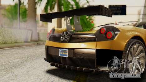 Pegassi Osyra Extra 2 pour GTA San Andreas vue intérieure